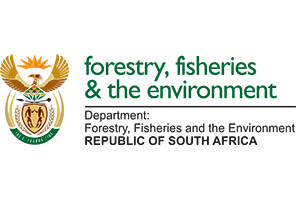 Department of Forestry, fisheries and the environment logo.
