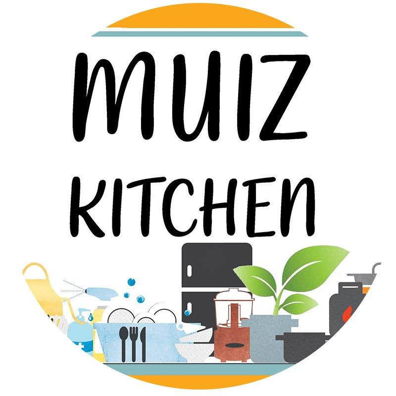 Muiz Kitchen logo.